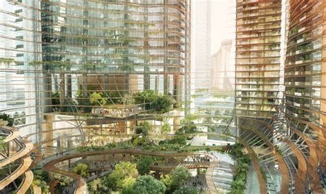 Singapore Marina One Green Infused Residential Building