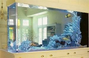 8 Dual-Purpose Fish Tank Design Ideas - Interior design