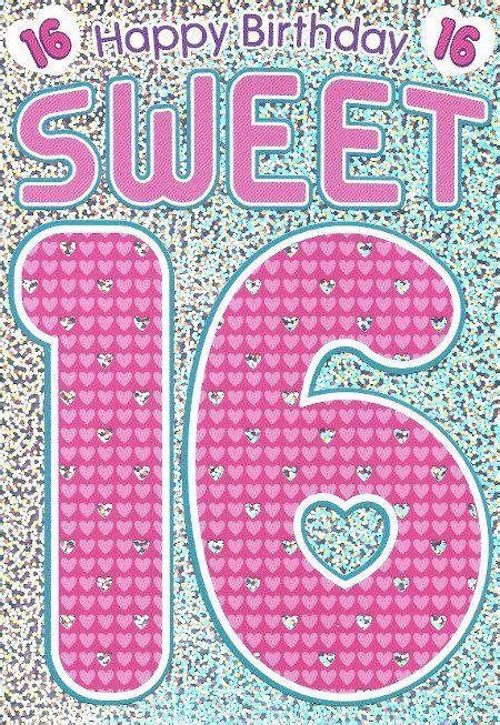 Happy Birthday Sweet 16  Happy Birthday Pinterest
