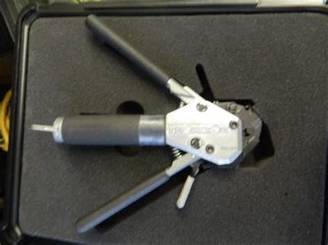 glenair band  tie dex ii   banding tool works great ebay