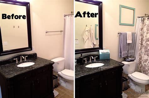 five steps to an easy bathroom makeover honeybear