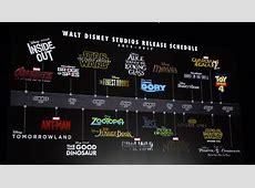 Disney presento sus grandes peliculas de 2015 hasta 2017