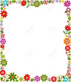 Flower Clip Art Borders and Frames
