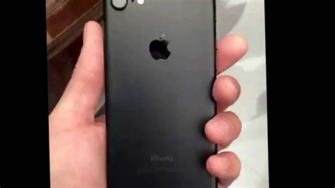 iphone 7 mat black and
