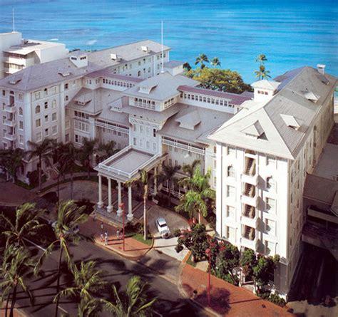 Moana Surfrider Hotel  Waikiki Hawaii  The Invisible Agent