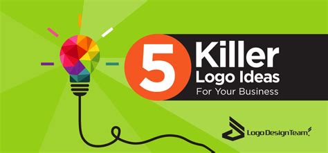 5 Killer Logo Ideas For Your Business