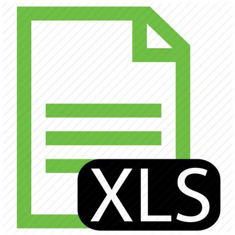 excel spreadsheet icon file type xls icon