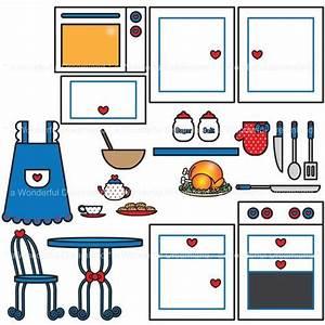 Free Kitchen Clipart Pictures - Clipartix