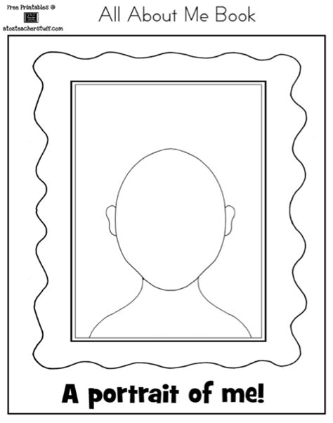 free printable all about me book for preschool 9 best images of about me worksheet autism printable all 396