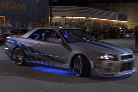 nissan gtr skyline fast and furious top 10 cars from quot the fast and the furious quot movies