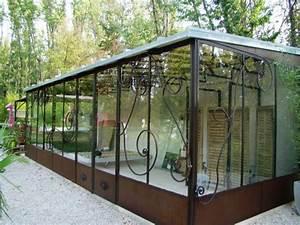 Véranda Fer Forgé : veranda toiture zinc ~ Premium-room.com Idées de Décoration
