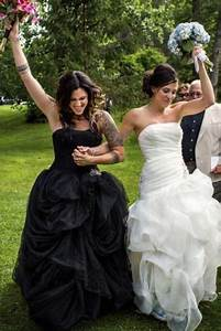 will the white wedding dress tradition continue find out With lesbian wedding dress