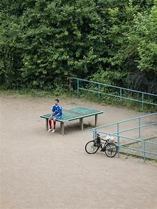 The diverse daily life of a ping pong table in germany for Ping pong table in germany tomiyasu hayahisa