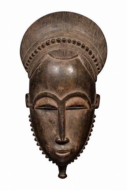 African Tribal Mask Tribe Baule Portrait Chairish
