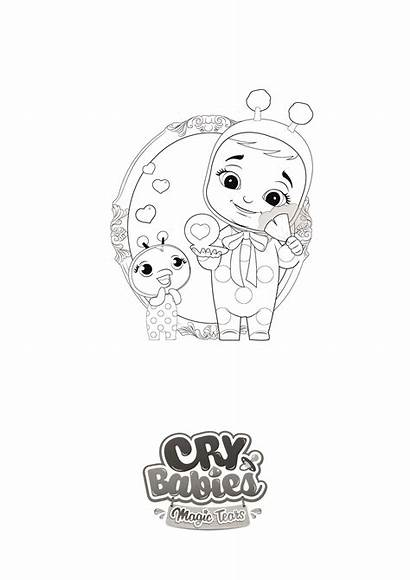 Cry Magic Tears Babies Dibujos Colorear Llorones