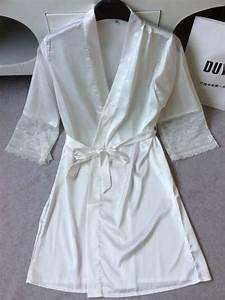 bathrobe robe de nuit sexy sleepwear for plus size silk With robe de nuit sexy