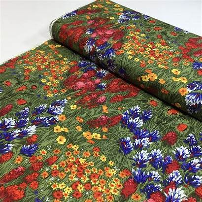 Fabric Miller Michael Fabrics Wildflowers Yard Quilt