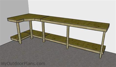 garage work bench garage workbench plans myoutdoorplans free woodworking