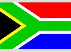 I colori della bandiera del Sudafrica