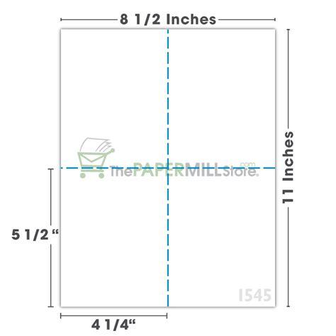 1 000 Compulabel 430558 Laser Or Inkjet Postcards 4 1 4 Postcard Template 4 Per Page Images