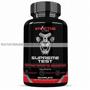 My Invictus Labs Supreme Test Testosterone Booster Review