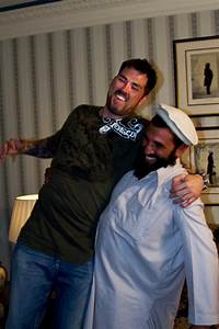 Former Navy SEAL Marcus Luttrell With His Friend Mohammad ...