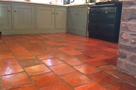 quarry tile kitchen quarry floor tile restoration specialists the 1700