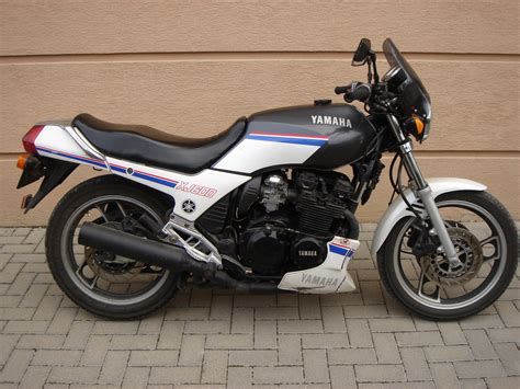 stock 1989 yamaha xj 600 51j 1 4 mile drag racing timeslip