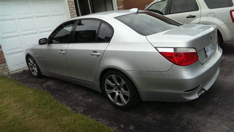 2004 Bmw 545i 6 Speed Silver Located In Toronto, Canada