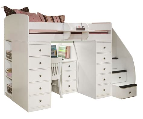 american bunk bed with desk bedroom bunk beds with stairs and desk for girls pergola