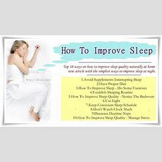 Top 10 Ways On How To Improve Sleep Quality Naturally At Home