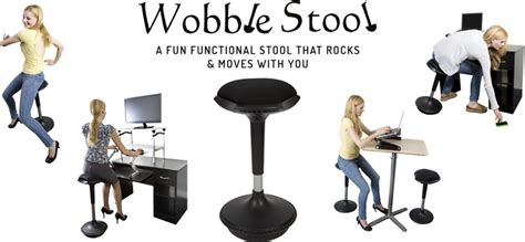 wobble stool ergonomic active sitting office chair