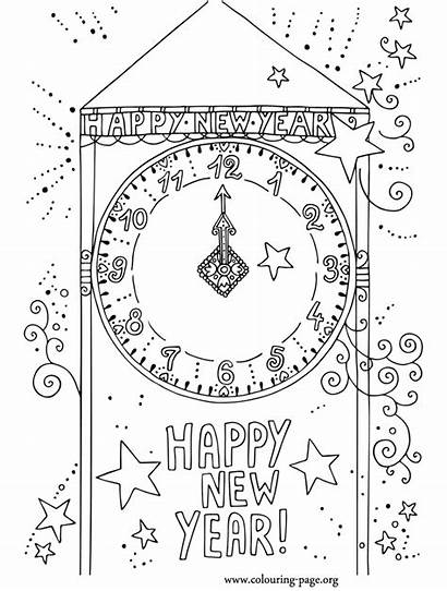 Coloring Pages Countdown Colouring Sheets Happy Fun