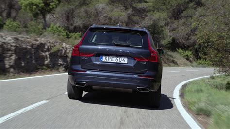 volvo xc  denim blue driving footage youtube