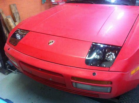 porsche headlights at night porsche 924 944 racing headlight kit vintage exotics