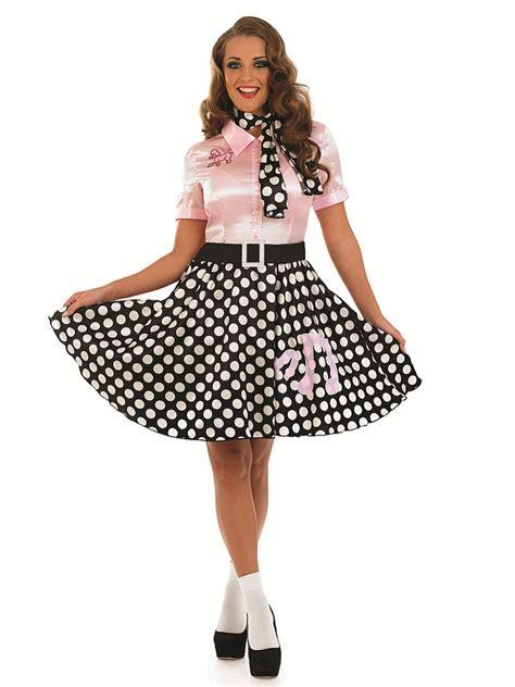 Adult 50s Rock n Roll Girl Costume - FS3627 - Fancy Dress Ball