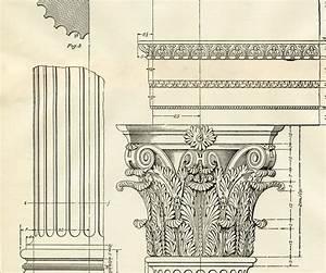 Architecture Printable Corinthian Columns - Diagram