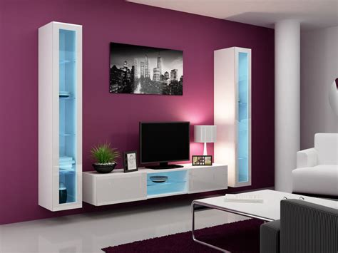 Tv Stand/tv Wall Unit With Led Lights , Living Room Miners Light Bed Paint Booth Lighting Tenmat Recessed Cover Bedroom Laser Projector Lights Led 4 Foot Fixture Battery Operated Tea With Timer