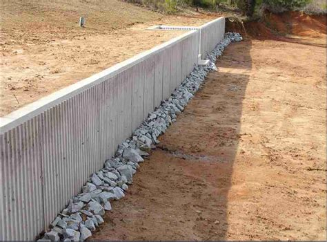poured concrete retaining wall prime lake services
