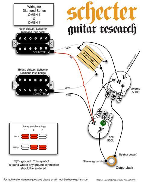 schecter damien 6 wiring diagram 32 wiring diagram