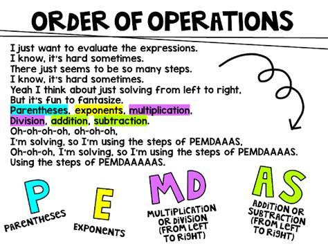 Miss 5th Order Of Operations (pemdas) Song Lyrics