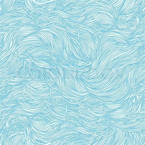 Tapete Muster Blau by Abstract Light Blue Pattern Waves Background