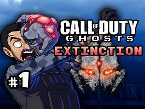 SCRUBBY ALIENS - Extinction Aliens Call of Duty Ghosts w ...