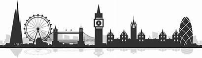 London Silhouette Skyline England Clipart Transparent Freepngclipart
