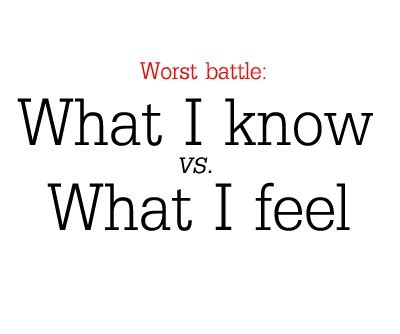 Heart And Mind Battle Quotes