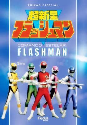 comando estelar flashman no anime plus