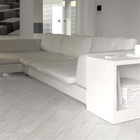 Prestige White Oak 8mm V-Groove Laminate Flooring