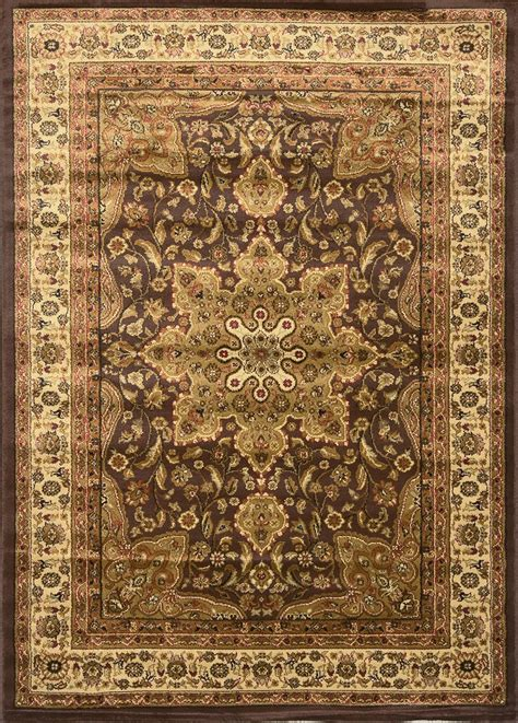 area rugs brown black brown ivory medallion area rug