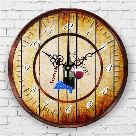 american style kitchen wall clock waterproof clock face