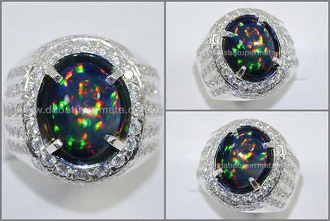 batu black opal kalimaya b519 sparkling panca warna black opal kalimaya top